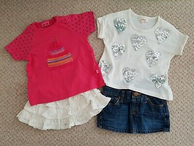 Baby girls summer clothes bundle 12-18 months Me Too, Gap, Seed VGC
