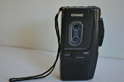 CASIO TP-41 MICRO VOICE RECORDER with VAC