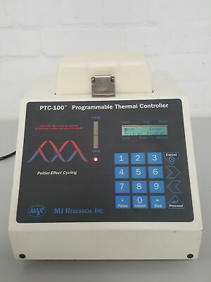 MJ Research PTC-100 PCR Programmable Thermal Controller DNA Lab