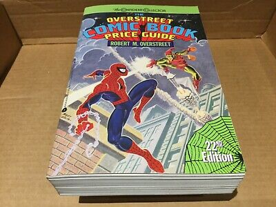 OVERSTREET COMIC BOOK PRICE GUIDE Lot of 6  Numbers 12 16 18 19 20 22