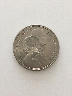 1997 Queen And Prince Philip 50th Wedding Anniversay £5 Coin
