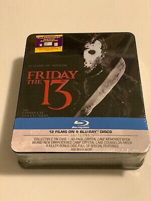 Friday the 13th The Complete Collection Steelbook Blu-Ray NEW & SEALED!