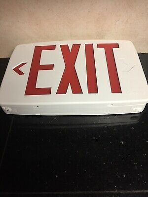 Lithonia Lighting Contractor LED Exit Sign LQM LED Emergency Light