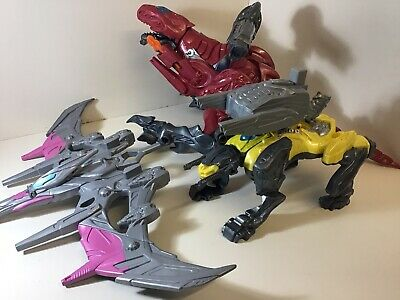 power rangers Battlezords  Dino Charge Movie Trex Dino Bundle