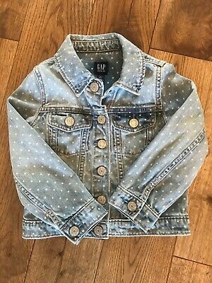 Gap Denim Jacket Girls age 4