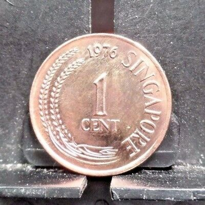 Circulated 1976 1 Cent Singapore Coin (120917)1.....Free Shipping!!!!!
