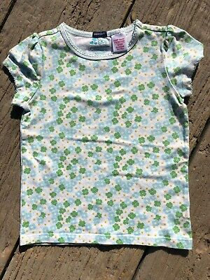 Baby Gap Girls T-Shirt 4 Year Old Great Condition Floral Pattern