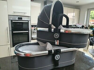 Icandy Peach Truffle main carrycot and Lower Carrycot With Bumper !