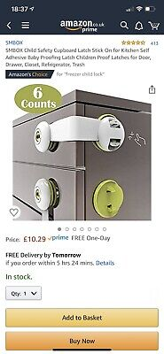 Baby Safe child Dual button multi- function lock X 6