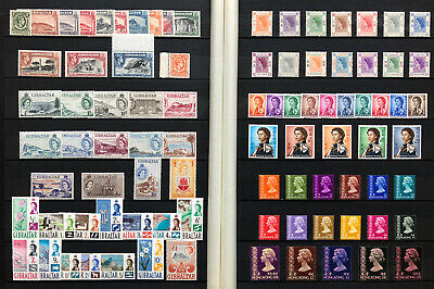 Quality Stockbook Collection Of Mint Kgvi/Qeii Kg6/Qe2 Commonwealth Stamp Sets