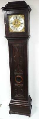 Antique Grandfather Clock Middleton 8 Day Striking Longcase Clock By John Taylor