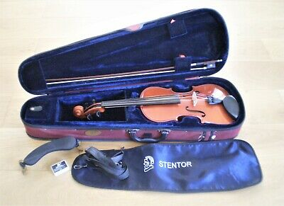 Stentor Student 2 Full Size 4/4 Violin Outfit, Case, Bow, Shoulder Rest & Rosin