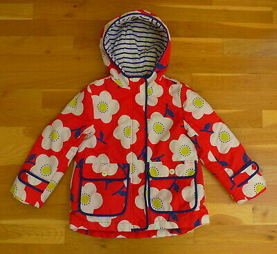 Mini Boden Girls' Padded Showerproof Coat - Size 5-6 Years - Good Condition