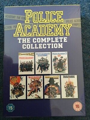 Police Academy The Complete Dvd Collection Brand New Sealed