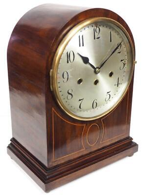 Antique Musical Bracket Clock Quarter Striking 8 Day Westminster Mantel Clock