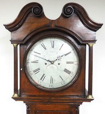 Antique Grandfather Clock Matlock 8 Day Striking Longcase Clock James Bonn C1770