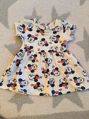 Disney Minnie Mouse Baby Girl Dress 0-3