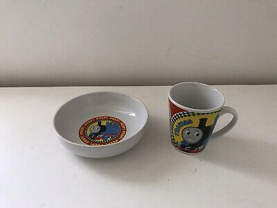 Collectable! Thomas The Tank Engine Cup & Cereal Bowl