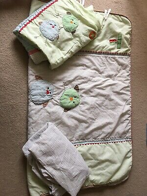 Cot Bed Bedding Next Ziggy And Friends Cot Bed Fitted Sheet And Bumper