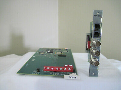 Harris Intraplex Snc-101S Card And Ma-480 Adapter