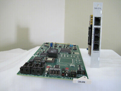 Harris Intraplex Cm-5Rb Card And Ma-215 Adapter