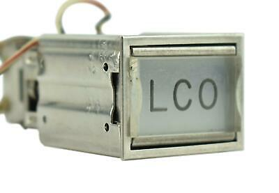 NASA Apollo KSC LCR *SPACECRAFT STATUS* Lighted Push Button Control Panel Switch
