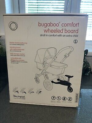 BRAND NEW Bugaboo Comfort Wheeled Buggy Board With Seat - Boxed! Universal.