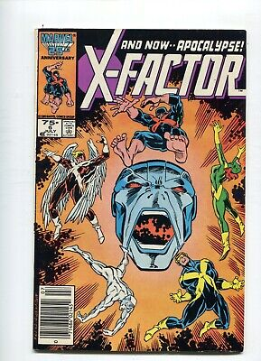X-Factor 6 VF 1st appearance of apocalypse Needs pressed