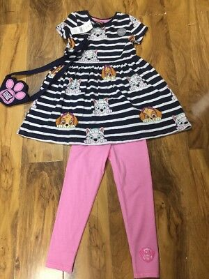 BNWT Paw Patrol Girls 2 Piece Set With Cute Little Purse  Aged 3-4 Years Old