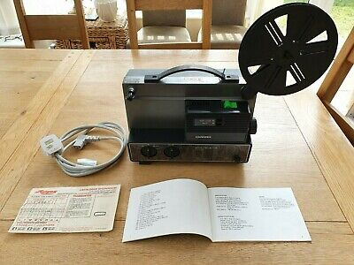 HANIMEX 808D Dual Gauge SUPER 8 8MM Cine Movie Projector in Excellent Condition