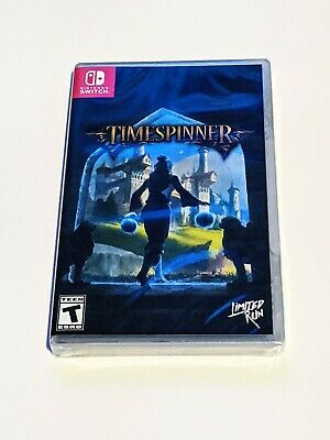 Timespinner - Limited Run Games - NEW - Nintendo Switch - LRG Time Spinner