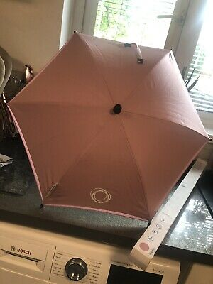 Bugaboo Soft Pink Parasol / Umbrella - Boxed, Never used! Choice Of Clip!