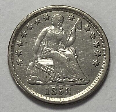 1858 O Seated Liberty Half Dime H10c  ~ Better Date