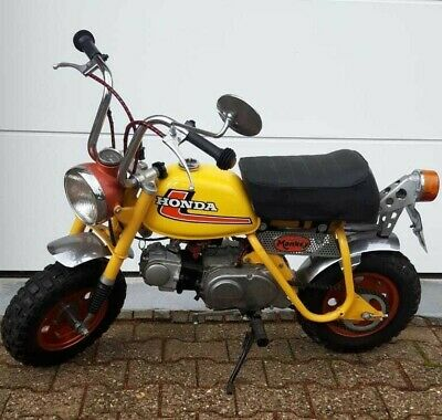 Honda Monkey Z50 AE aus 7/1974 - RAR -
