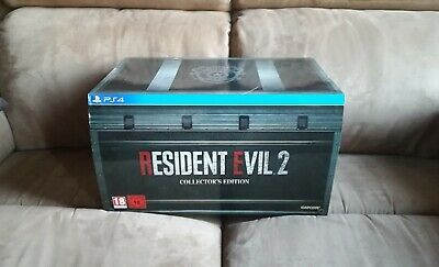 Resident Evil 2 Remake Collector's Edition Collector Ps4 - Eu Pal - New / Neuf
