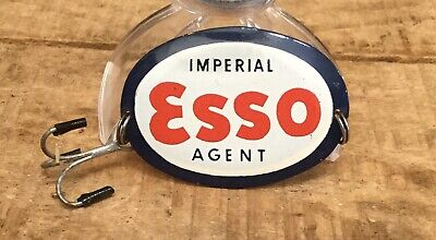 Rare Vintage IMPERIAL ESSO AGENT Gas Motor Oil Advertising Fishing Hook & Lure
