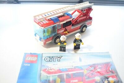 Lego 7208 Fire Station Fire Truck ONLY with instruction manual