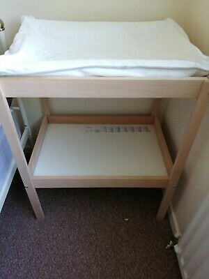 Baby changing table unit