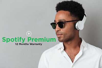 Spotify Premium 🔥 | EXISTING or NEW Account | 12 Months warranty🌍Worldwide