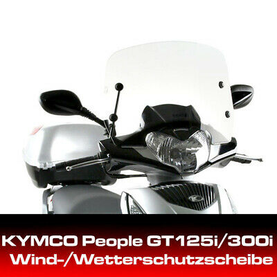 Kymco Windshield For People GT125i/300i With Mount Set