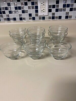 BB 13 pcs Clear Glass Candle Votive Holders Events Wedding Party Centerpieces