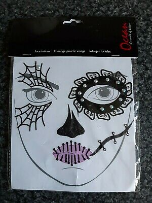 Face Tattoos New In Packet