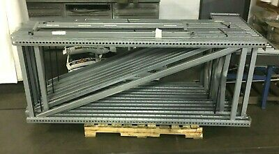 "Lot (12) SSI Schafer R7000/1 Racking Shelving Uprights / 79""H x 31 1/2""W x 2 1/4"