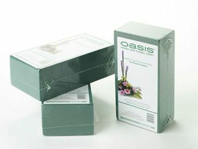 Oasis® Ideal Floral Foam Brick Individually Wrapped - Wet