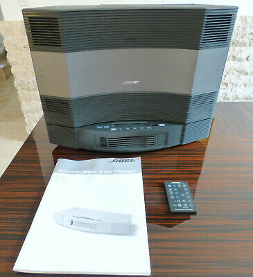 Bose Acoustic Wave Music System CD-3000 W/Acoustic Wave II 5 CD Changer & Remote