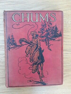 Chums Annual 1929-1930 .1st Edition Vintage Illustrated Boy's Book. 832 pages.