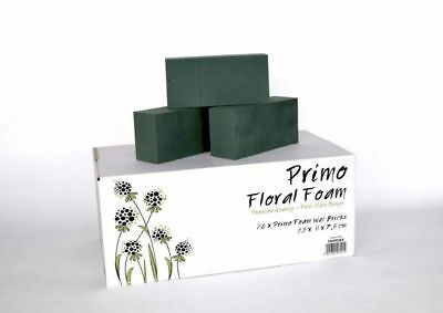 A Box Of 20 Wet Brick Primo Floral Foam Of Premium