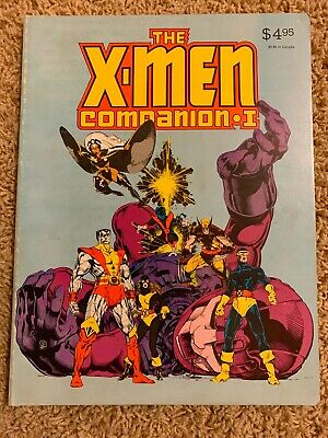 1982 X-Men Companion Volume 1 VF/NM! Softcover 122 pages!