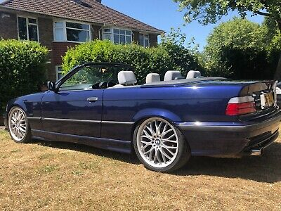 BMW E36 318i automatic 1996 Convertible sort after m3 replica! new roof BARGAIN!