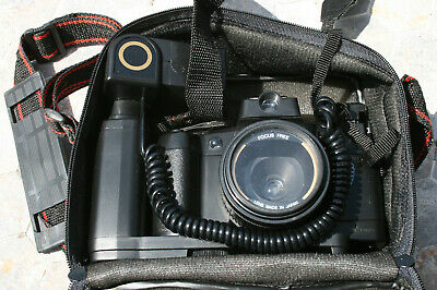 Second-hand 35mm SLR Film Camera and Flash - Untested